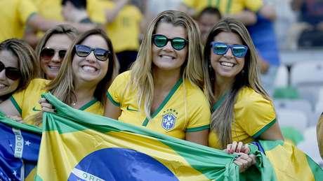 <p>Turistas brasileiros serão maioria em jogo do Brasil em Fortaleza</p>
