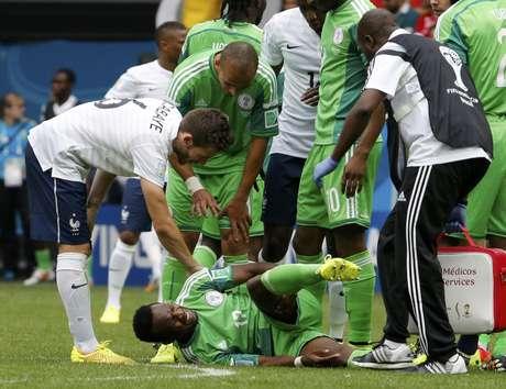 Francês Matuidi faz falta em Onazi, da Nigéria