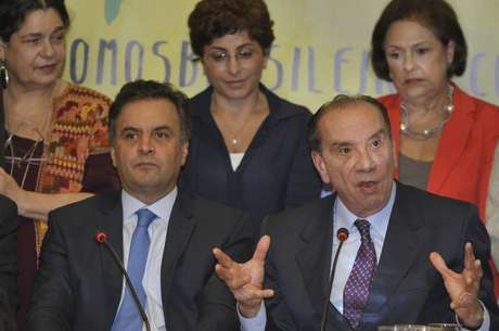 Aloysio Nunes é o vice de Aécio Neves. O anúncio foi feito nesta segunda feira