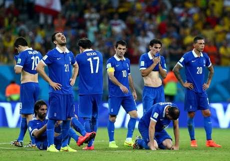 Seleção grega fez a melhor campanha de sua história em Copas do Mundo
