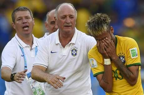 Principais nomes do Brasil mostraram estar extremamente sensibilizados durante a Copa do Mundo