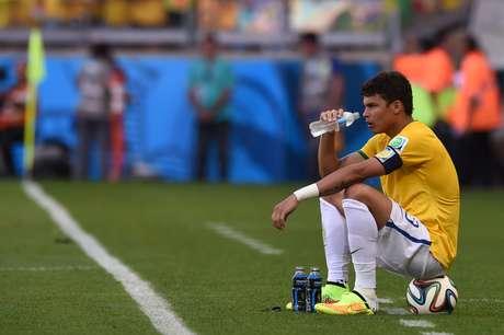 Capitão, Thiago Silva se isolou antes das cobranças de pênalti
