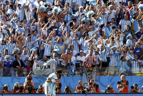 <p>Argentina sofreu e marcou apenas no fim do segundo tempo da prorrogação</p>