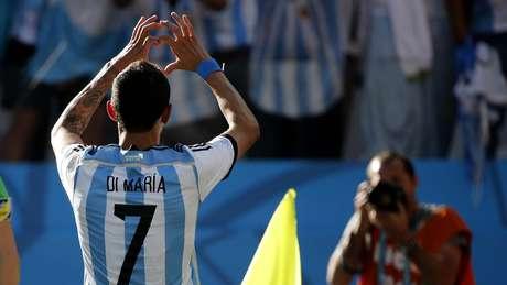 <p>Argentino Di María marcou gol após passe de Messi quando partida se encaminhava para os pênaltis</p>