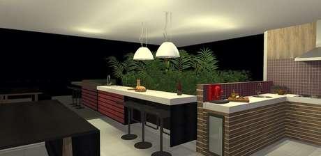 <p>Projeto 3D da varanda doapartamento</p>