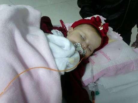 Bebê recebeu da Justiça o direito de ter o tratamento custeado pelo governo