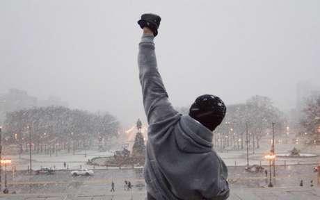 Stallone foi sucesso na saga de Rocky Balboa