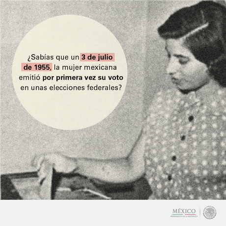Resultado de imagen para Las mujeres mexicanas votan por primera vez en elecciones federales.