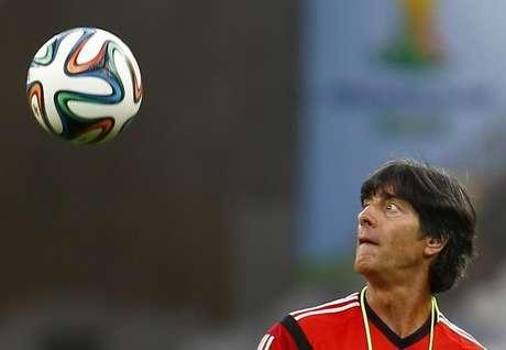 <p>Técnico Joachim Löw tem a base formada da equipe da Alemanha desde a Eurocopa de 2008</p>