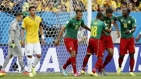 23 de junho - Brasil 4 x 1 Camarões - Estádio Mané Garrincha, Brasília