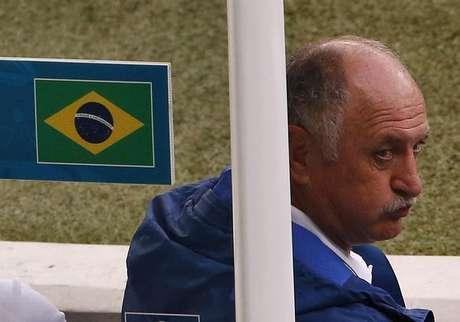 <p>Nas redes sociais, Felipão foi apontado como um dos principais culpados pela derrotadiante daAlemanha</p>