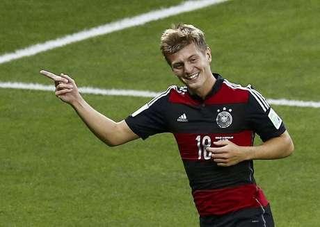 <p>Goleada alemã aproximou Mundial de marca histórica</p>