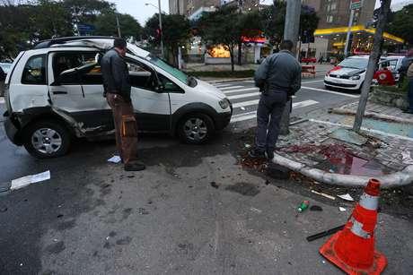 Jorge López não sobreviveu ao acidente e morreu no local