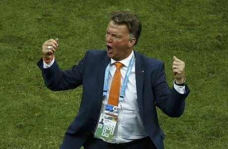 <p>Van Gaal se despediu da Holanda com honroso terceiro lugar</p>