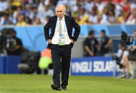 <p>Alejandro Sabella llevó a Argentina a la final del Mundial Brasil 2014</p>