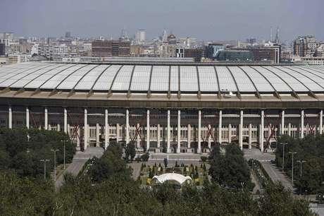 <p>Estádios na Rússia já recebem operários para Copa de 2018</p>