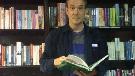 David Mitchell é autor de Cloud Atlas, que chegou ao cinema pelas mãos dos irmãos Wachowski