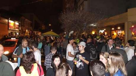 Torcedores tomaram conta de ruas do bairro Cidade Baixa em dias de jogos em Porto Alegre
