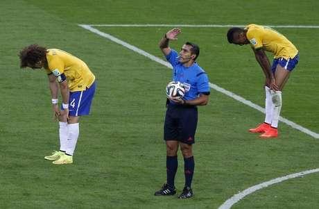 <p>Brasil teve problemas de coordena&ccedil;&atilde;o defensiva, segundo an&aacute;lise da Fifa</p>