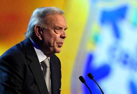 Ex-presidente da CBF, José Maria Marin foi detido na Suíça, nesta quarta-feira