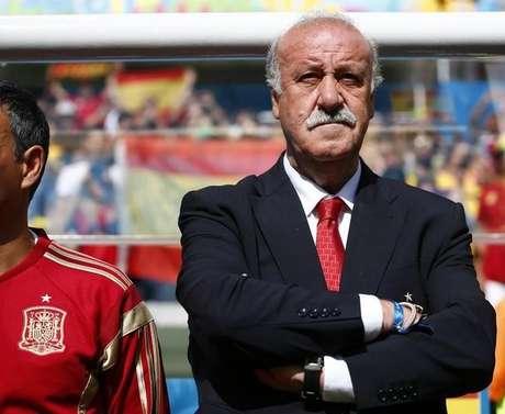 <p>Vicente Del Bosque começa renovação na seleção espanhola</p>