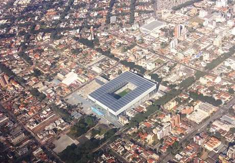<p>Curitiba foi uma das sedes da Copa</p>