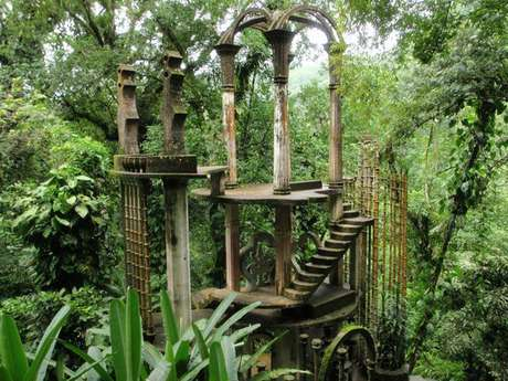 Turismo en san luis potos jard n escult rico de edward james for Jardin surrealista xilitla
