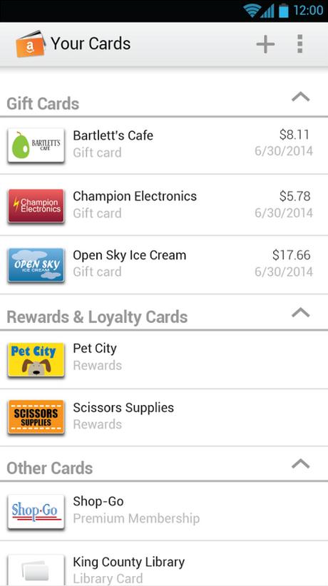 Aplicativo Amazon Wallet organiza cartões de fidelidade e vale-presentes