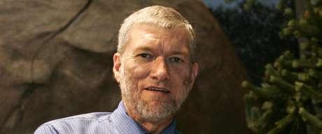<p>Ken Ham épresidente e CEO da empresa Answers in Genesis e do Museu da Criação</p>