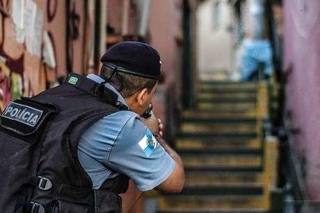 Operação da Polícia Militar no Complexo do Alemão no dia 22 de junho