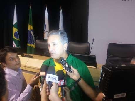 Marcos Vinícius Freire, do COB, disse que a meta brasileira é de 30 medalhas no Rio 2016