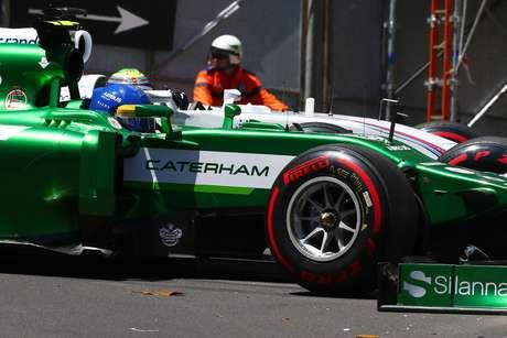 <p>Caterham pode não disputar GP dos Estados Unidos em Novembro</p>