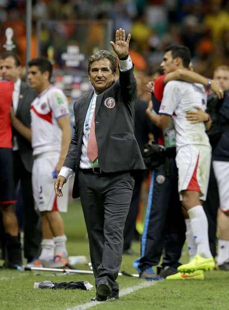 Jorge Luis Pinto tuvo una histórica actuación con Costa Rica en el Mundial de Brasil 2014.