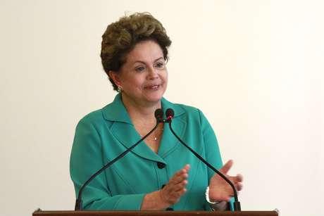 <p>Dilma Rousseff, candidata do PT à reeleição</p>