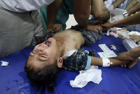 <p>Número de feridos já é de8.750 desde o início da operação militar israelense,informaramfontes médicas do território palestino</p>