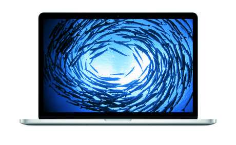 Macbook Pro de 15 polegadas com display com Retina