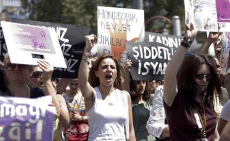 <p>Segundo relatório, 281 mulheres foram assassinadas na Turquia em 2014, um aumento de 31 por cento em relação ao ano anterior</p>