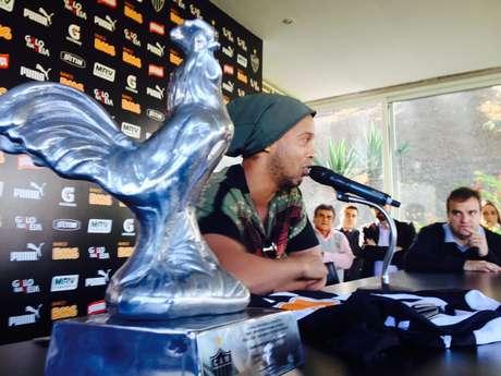 Ronaldinho dá adeus ao Atlético-MG após título da Recopa Sul-Americana