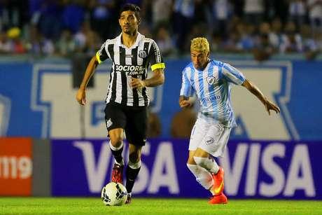 <p>Londrina deu trabalho para o Santos na Copa do Brasil deste ano</p>