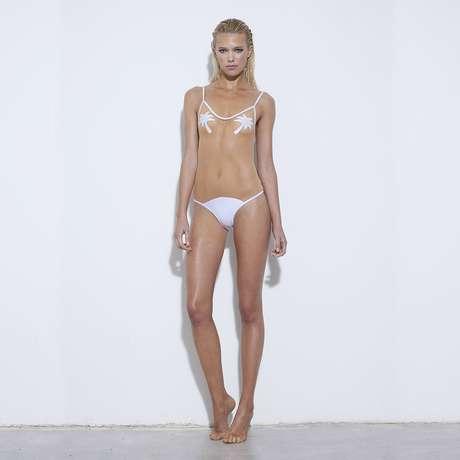 Bikini transparente en el grupo
