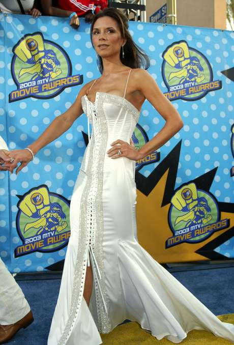 Victoria Beckham no MTV Movie Awards em 2003