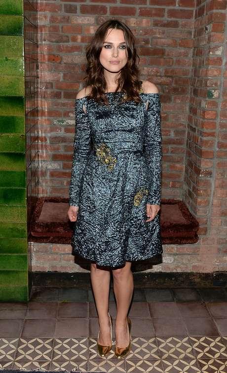 <p>Apesar de estrelar campanhas da Chanel, atriz afirma que não é muito ligada àmoda</p>