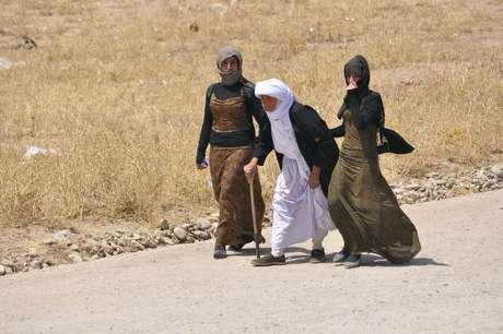 Minorias iraquianas estão fugindo das cidades tomadas pelos extremistas