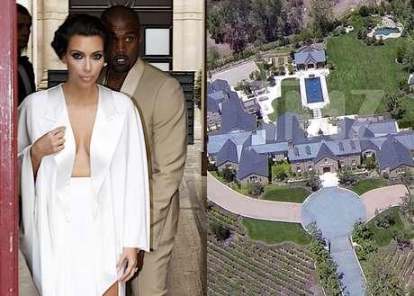 El nuevo e impresionante 39 casopl n 39 de kim kardashian for Decoracion casa kim kardashian