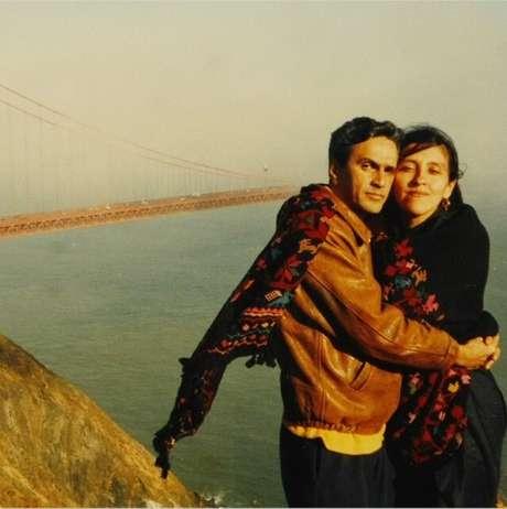 <p>Regina Casé postou uma foto tirada em 1994</p>