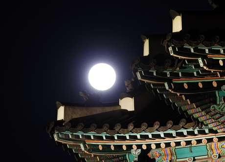 Fenômeno em Suwon, na Coréia do Sul
