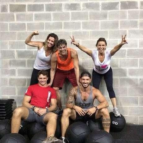 Reynaldo Gianecchini e Giovanna Antonelli aderiram o CrossFit