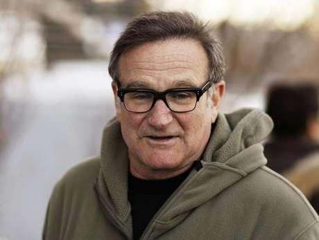 <p>Robin Williams chega a uma pré-estreia no Festival de Sundance, em Park City, Utah, nos Estados Unidos, em janeiro de 2009.</p>