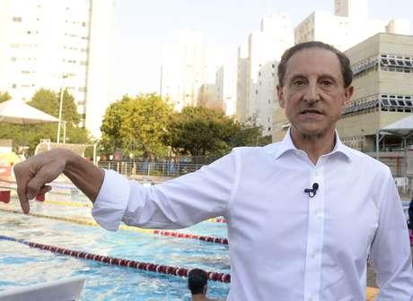<p>O candidato Paulo Skaf caiu de 23% para 18%</p>