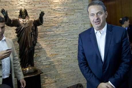 <p>Eduardo Campos morreu em acidente aéreo na manhã desta terça-feira</p>